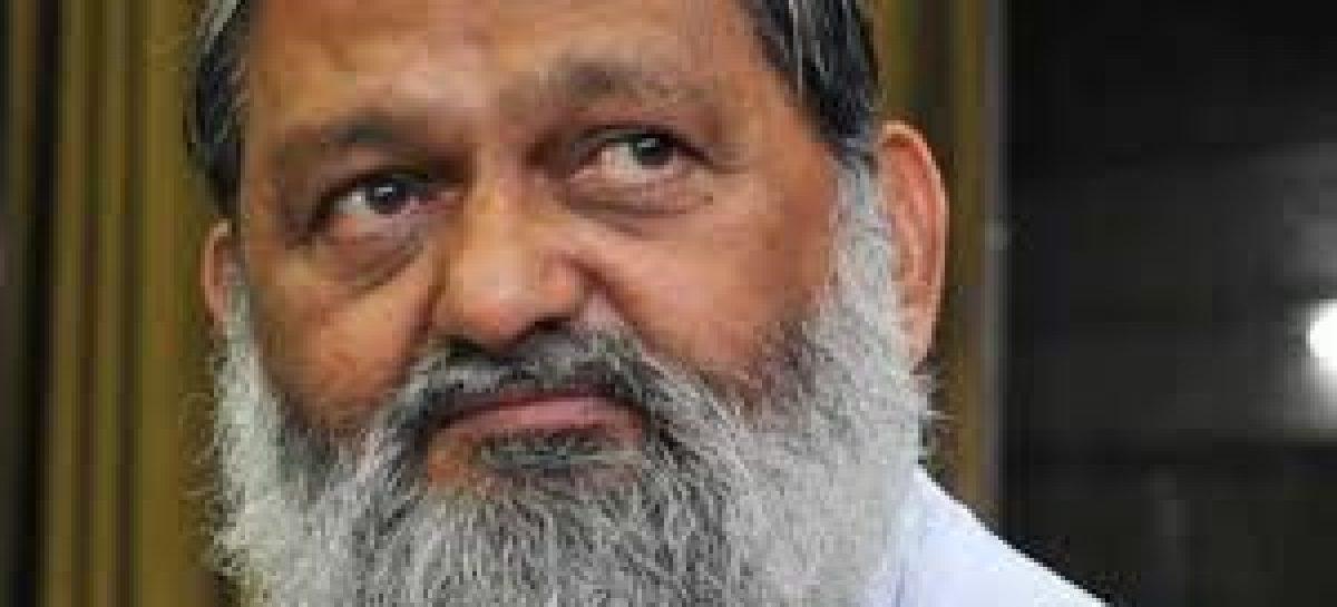 हरियाणा के गृह मंत्री विज ने बोया क्लेश  का बीज, दिल्ली की सब्जी सप्लाई रोकी