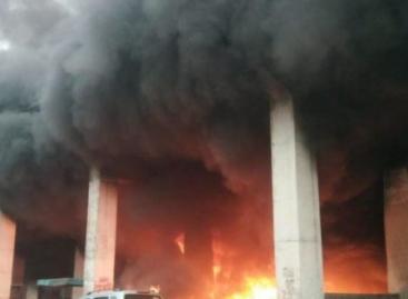 नीलम पुल फरीदाबाद के नीचे आग क्या हरियाणा के किसानो ने लगाई?