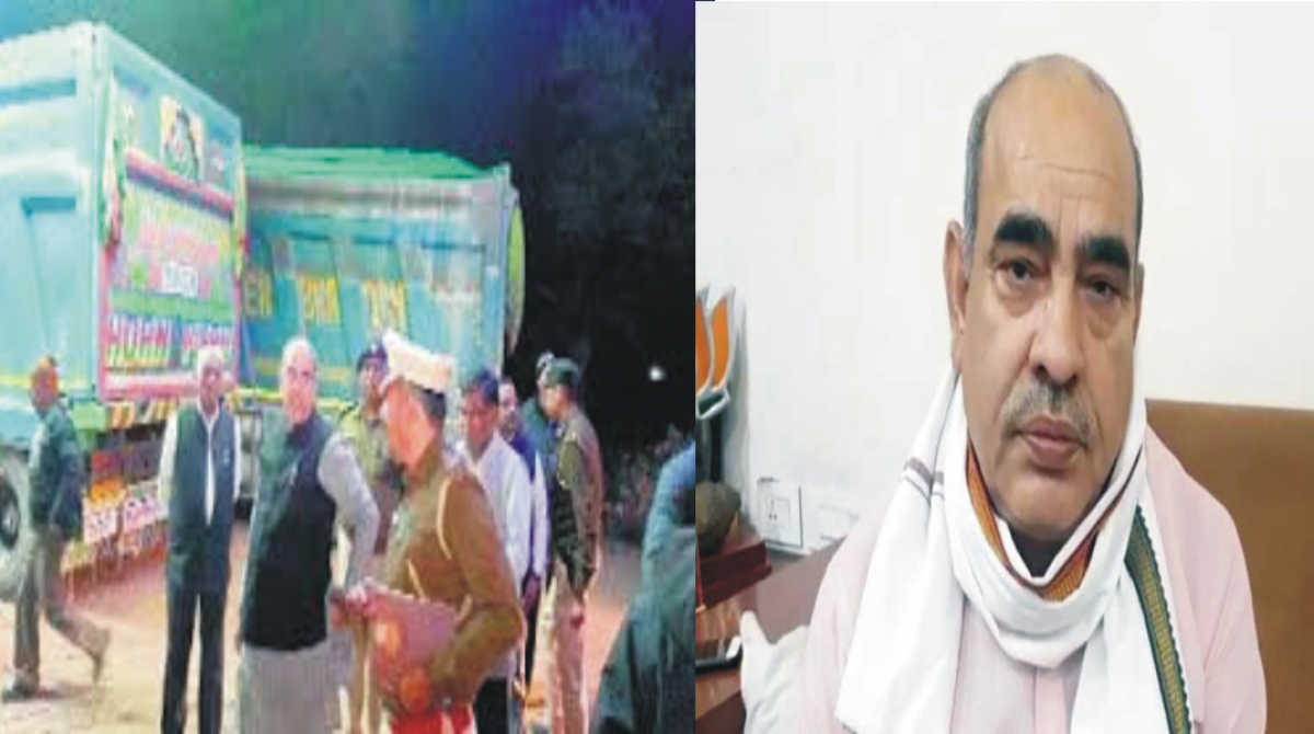 परिवहन मंत्री मूलचंद का विभाग फिर से पुलिस के पहरे में